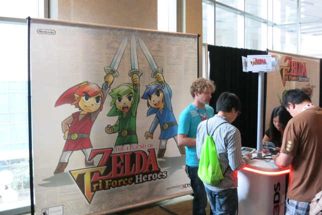 Triforce Heroes PAX Prime