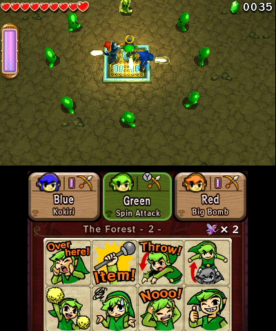 Triforce Heroes Screen 1