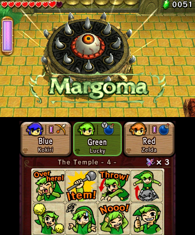 Triforce Heroes Screen 2