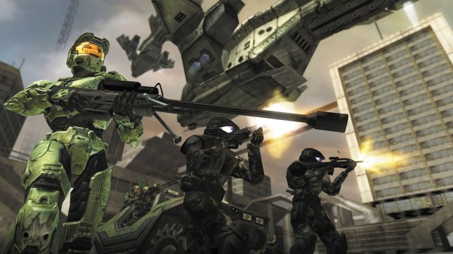 Halo 2 Art Banner
