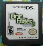 Line Rider 2 Cartridge