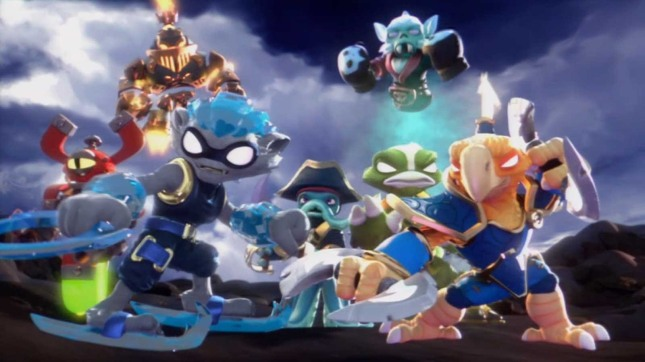 Skylanders Swap Force Art