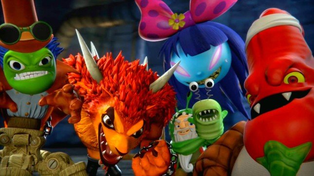 Skylanders Trap Team Bosses