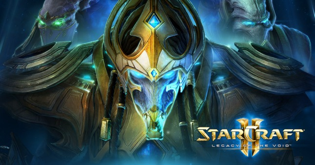 StarCraft II Legacy of the Void Banner