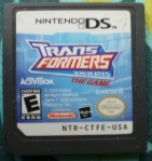 Transformers Animated Cartridge