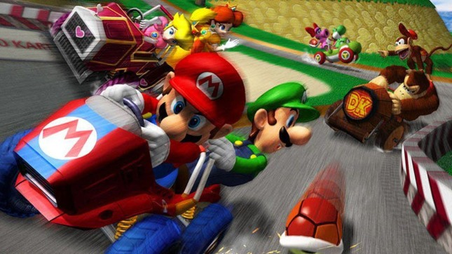 Mario Kart Double Dash Banner