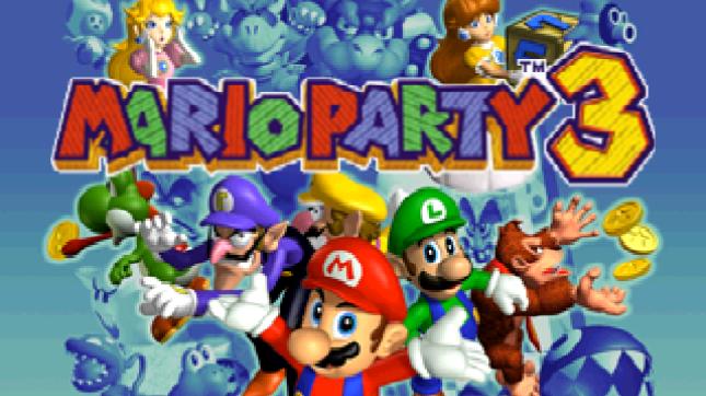 Mario Party 3 Logo