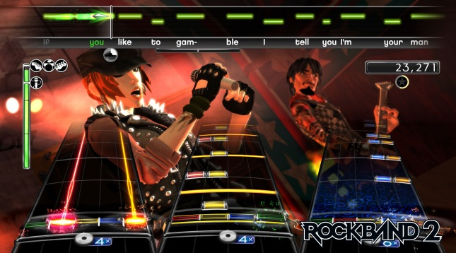 Rock Band 2 Banner