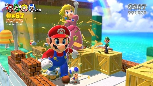Super Mario 3D World Gameplay