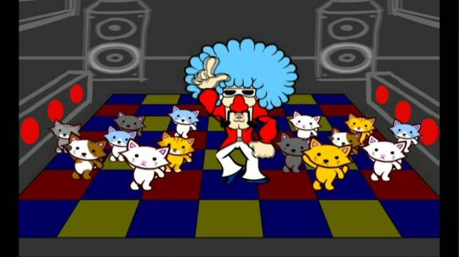 WarioWare Smooth Moves Jimmy Cats