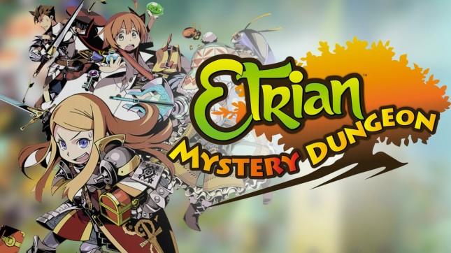 Etrian Mystery Dungeon Banner
