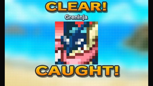 Pokemon Picross Greninja