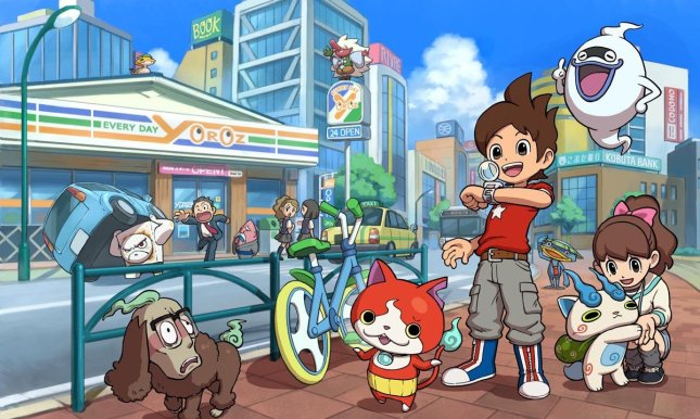 Yokai Watch Art 1
