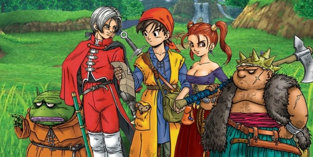 Dragon Quest VII Art