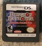 Dungeon Explorer Warriors of the Ancient Arts Cartridge