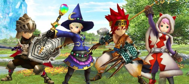 Final Fantasy Explorers Jobs