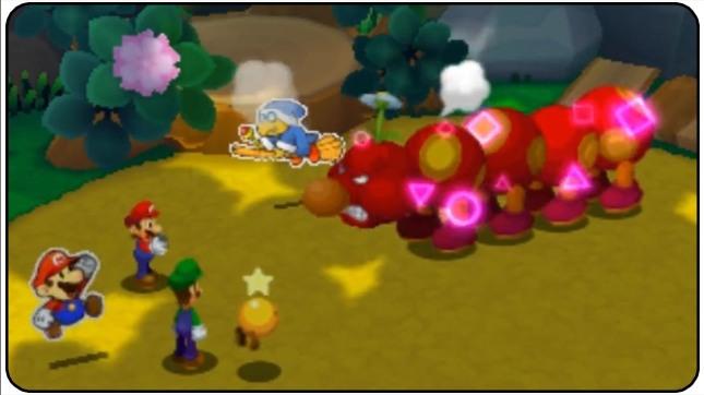 Mario and Luigi Paper Jam Wiggler