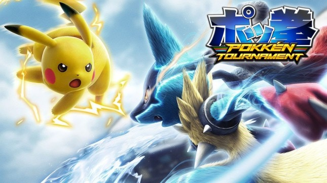 Pokken Tournament Art