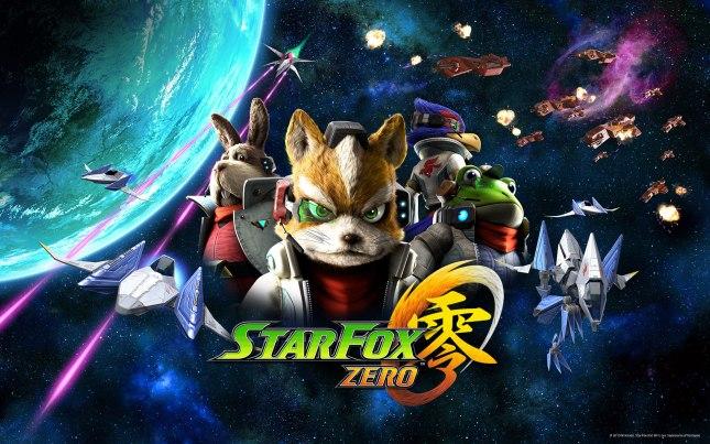 Star Fox Zero Art