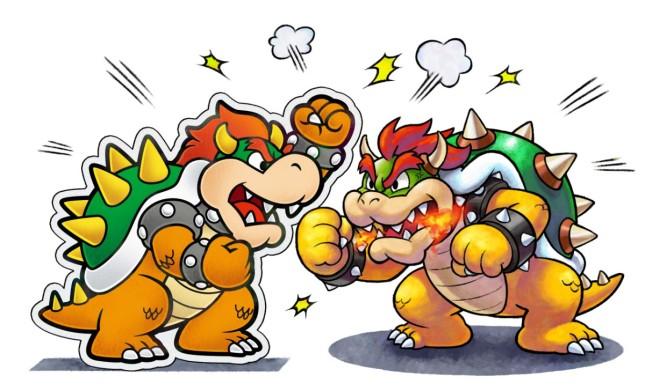 Mario and Luigi Paper Jam - Bowsers