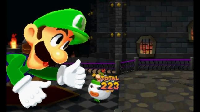 Mario and Luigi Paper Jam - Mega Mushroom Luigi
