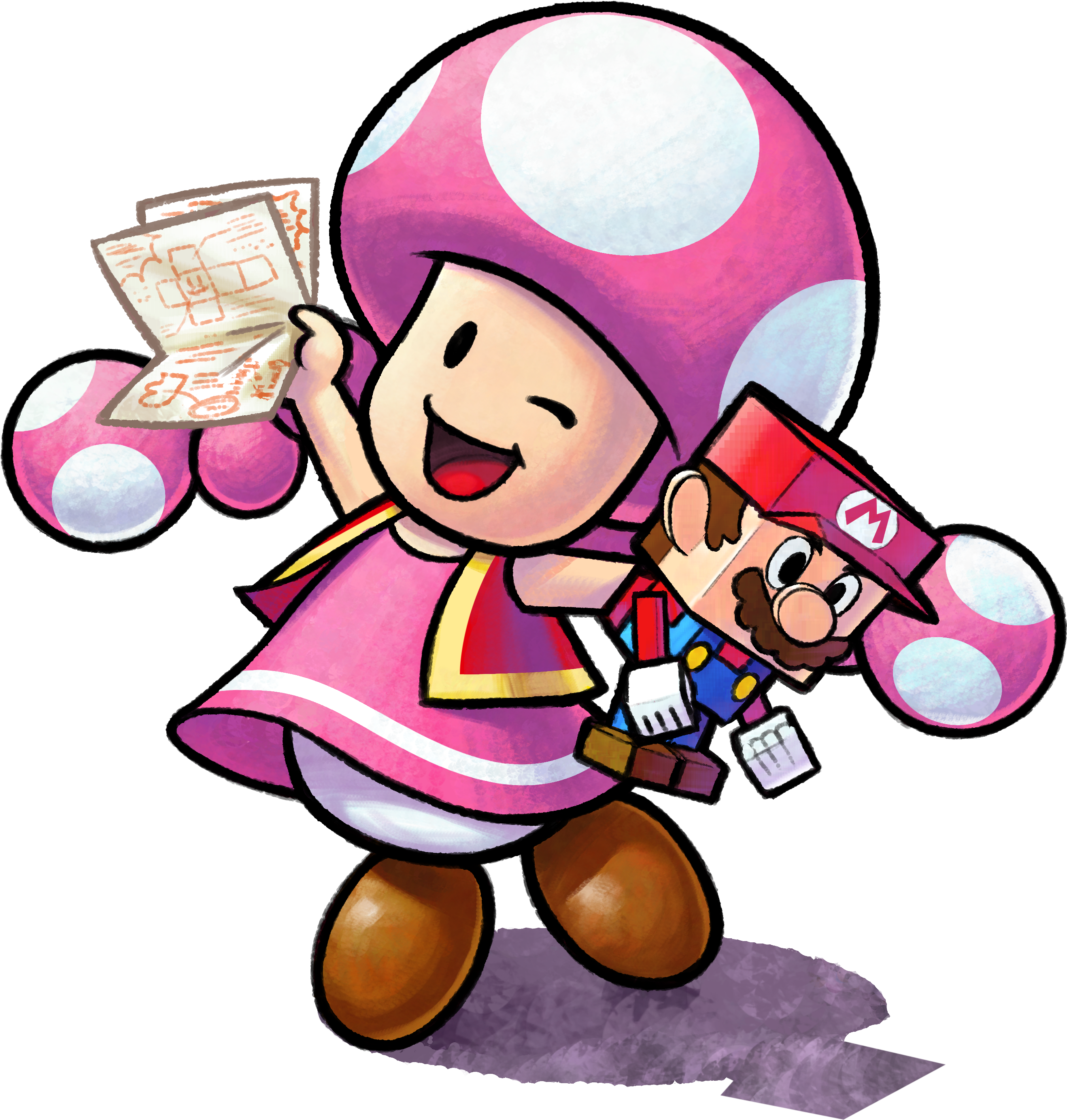 Mario And Luigi Paper Jam Toadette Slickgaming
