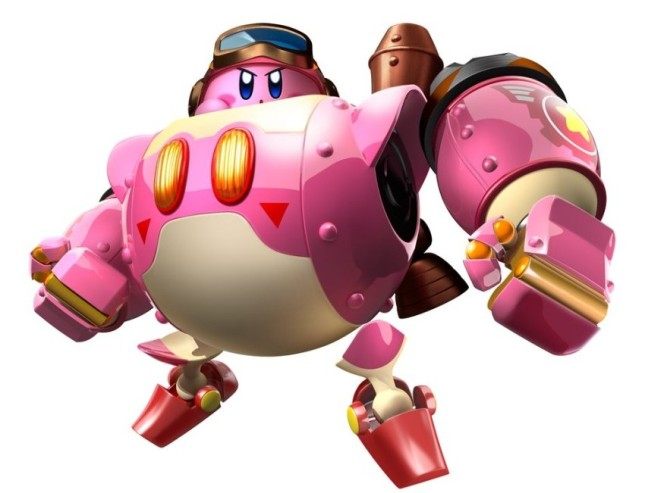 Kirby Planet Robobot art