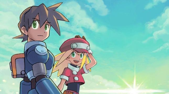 Mega Man Legends Art