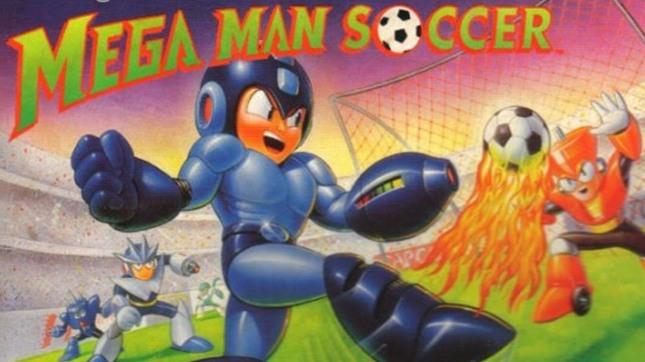 Mega Man Soccer Cover