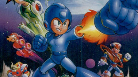 Mega Man V Art