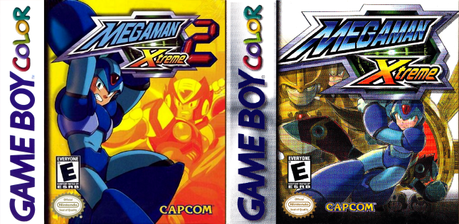 Mega Man Xtreme 1 and 2 Cover