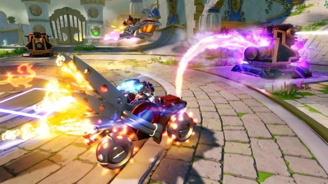 Skylanders Superchargers Gameplay 1