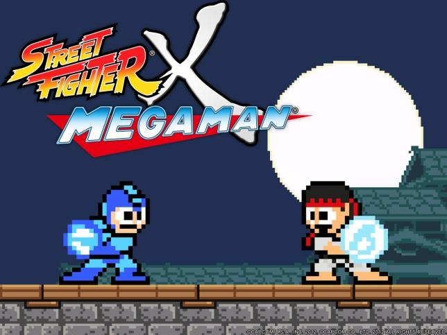 Street Fighter x Mega Man Cover