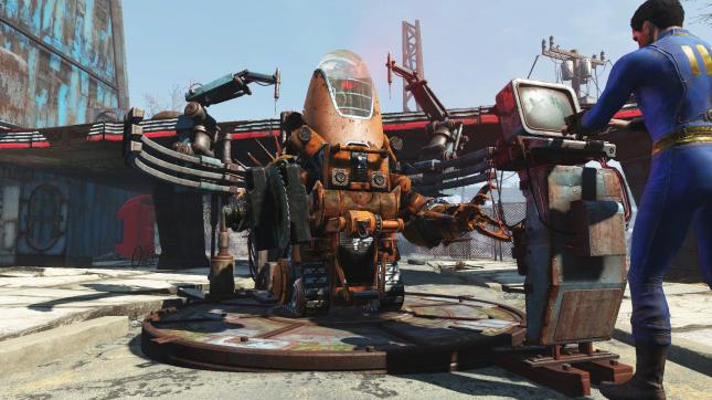 Fallout 4 Automatron Robot Workbench