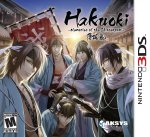 Hakuoki Memories of the Shinsengumi Cover