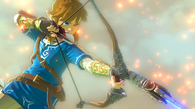 Legend of Zelda Wii U Art