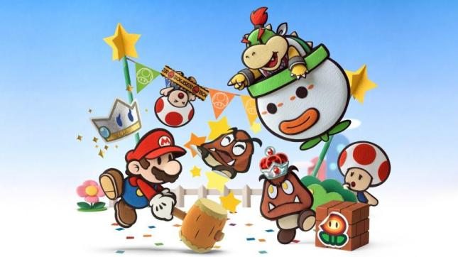 Paper Mario Art