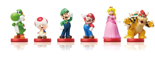 Super Mario series amiibo
