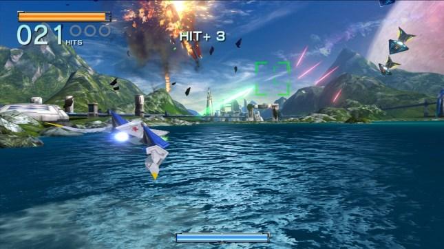 Star Fox Zero Gameplay 1