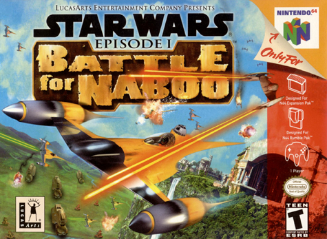 Star Wars Battle for Naboo Cover