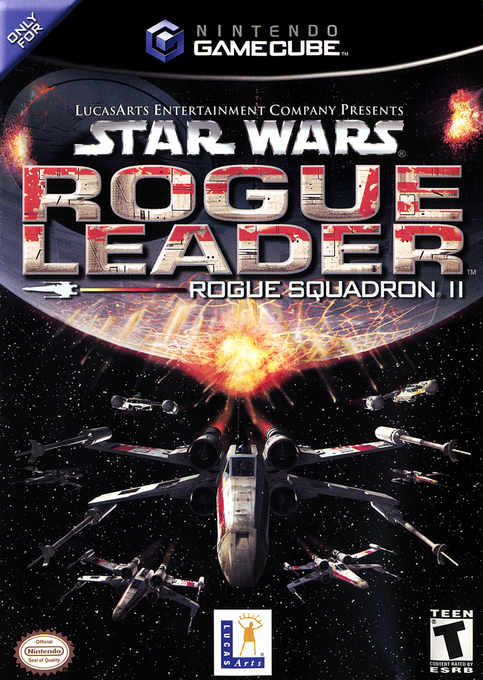 Star Wars Rogue Leader Rogue Squadron II Cover
