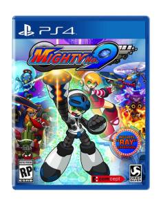Mighty no 9 (PS4) Cover