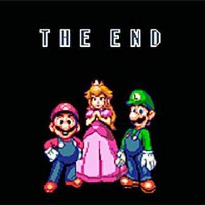 Super Mario Bros The End